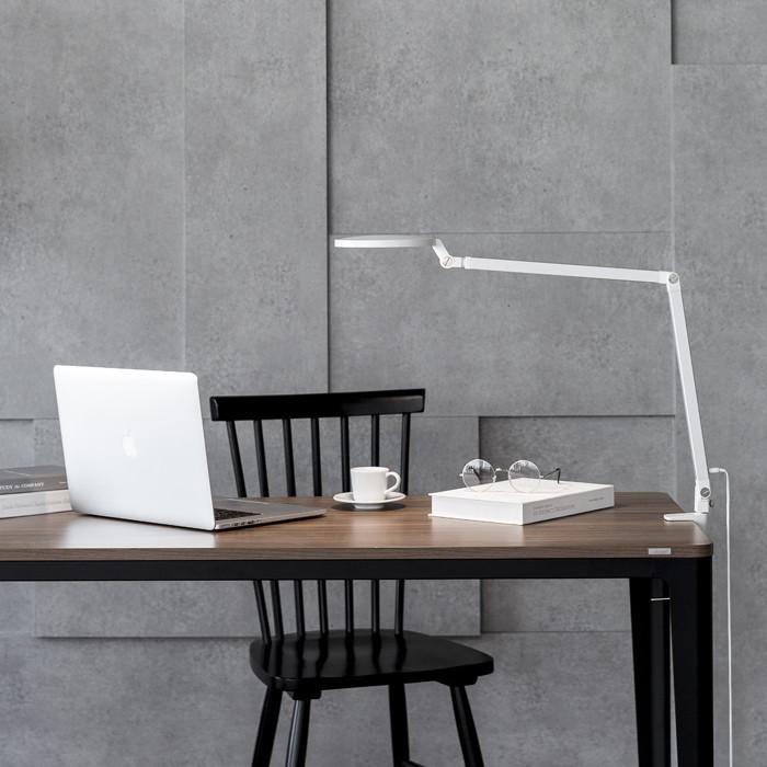 Đèn kẹp bàn LED Helios PL-3700White (Màu trắng)