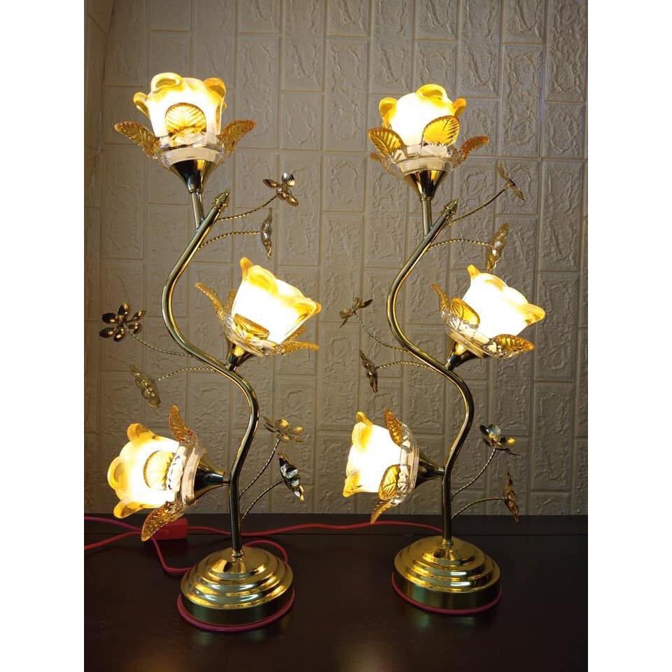 Đèn thờ bóng led hoa tu típ ( dành thờ bàn thờ đứng hoặc bàn thờ treo