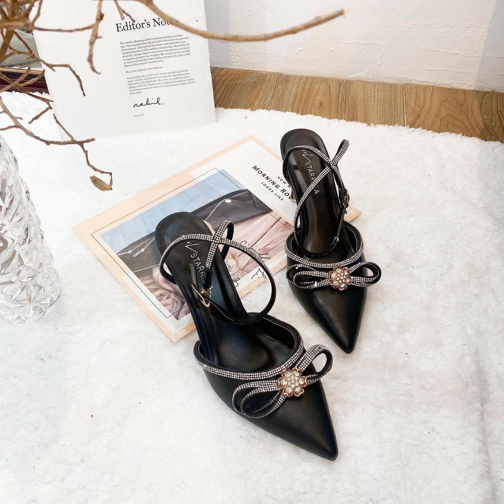 Giày cao gót phối nơ cực xinh cho các nàng (full box)