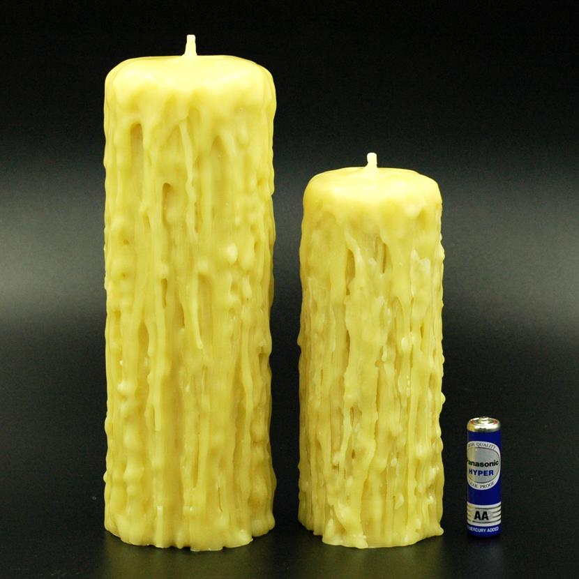 Nến Thơm Sáp Ong Emibee Cháy 165 giờ, làm sạch không khí, khử mùi hôi trong phòng, thơm mùi mật ong