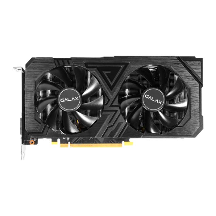 Card Màn Hình VGA Galax GeForce RTX 2060 EX 1 Click OC BLACK 26NRL7HPY2EX 192 bit 2 Fan DP HDMI DVI D - Hàng Chính Hãng