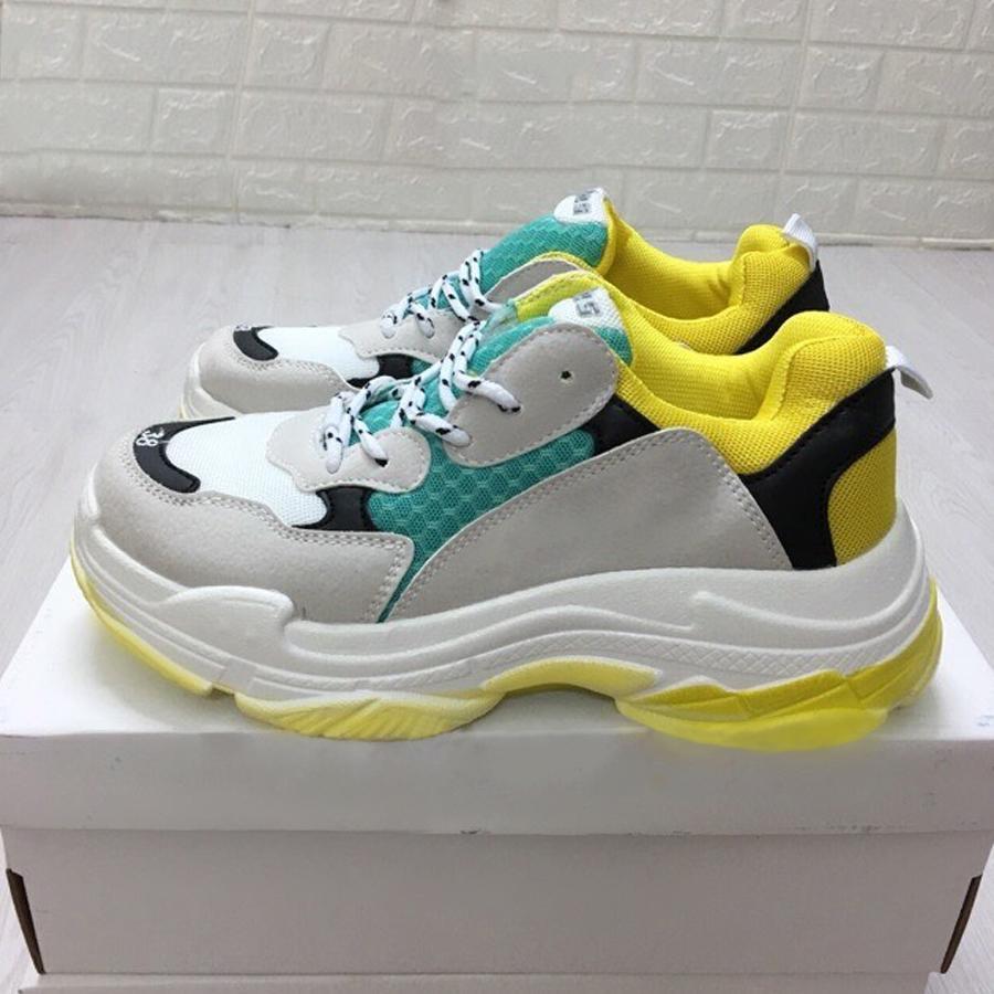 Giày thể thao nam phối màu cực đẹp