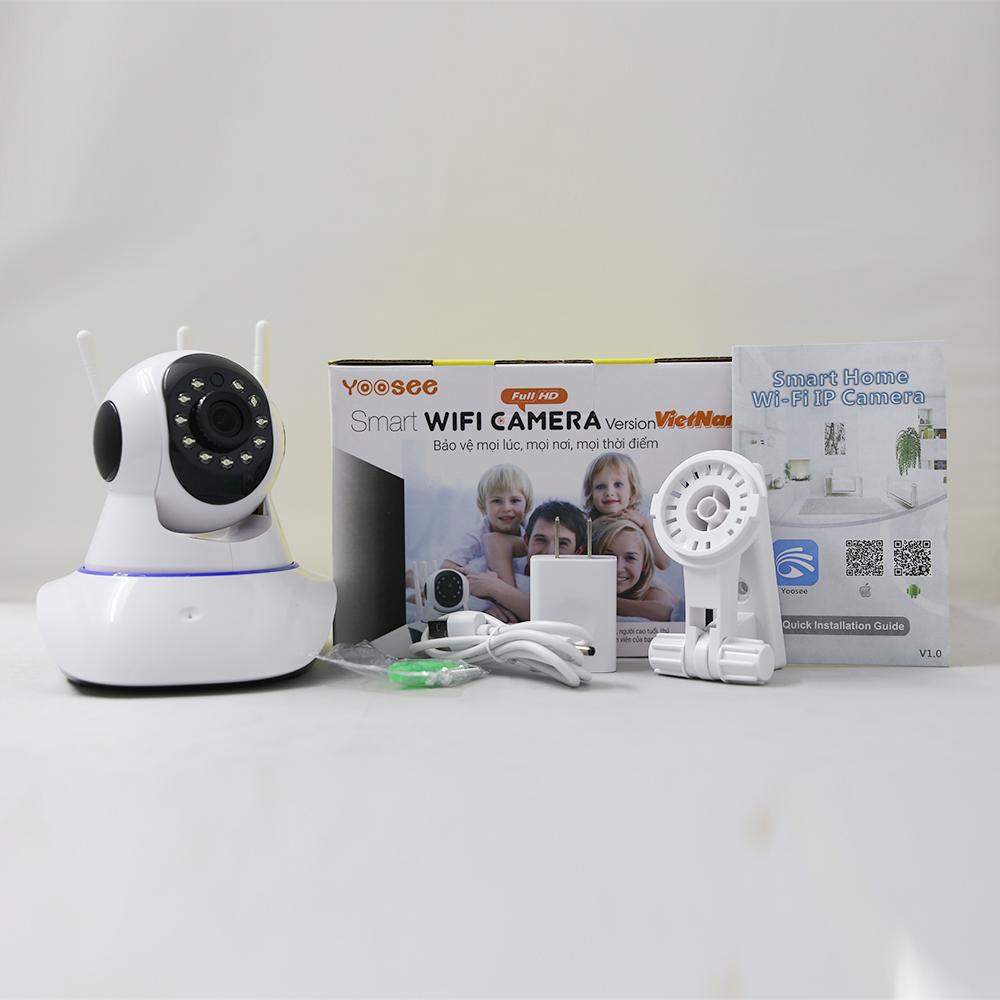 Combo Camera Quan Sát Yoosee 3 Râu Z063HL + 1 Thẻ Nhớ 16GB - Hàng Chính Hãng
