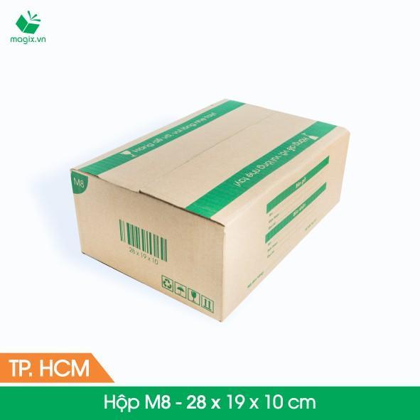 M8 - 28x19x10 cm - 20 Thùng hộp carton