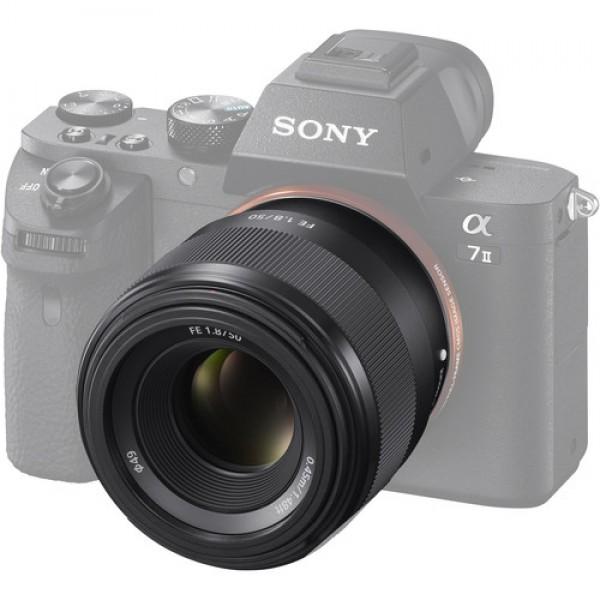 Ống kính Sony FE 50mm F1.8 (SEL50F18F) Đen - Hàng chính hãng