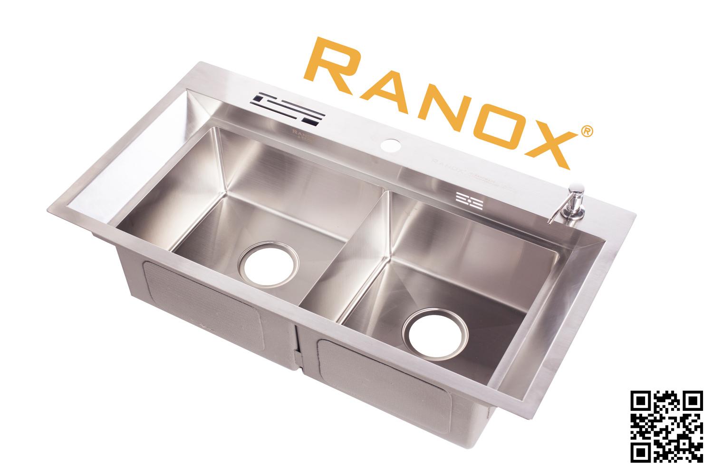Bộ chậu rửa bát Hàn Quốc RANOX RN4698