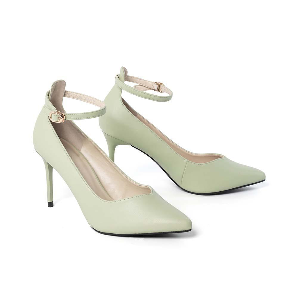 JUNO - Giày cao gót gót thanh quai cổ chân - CG09120