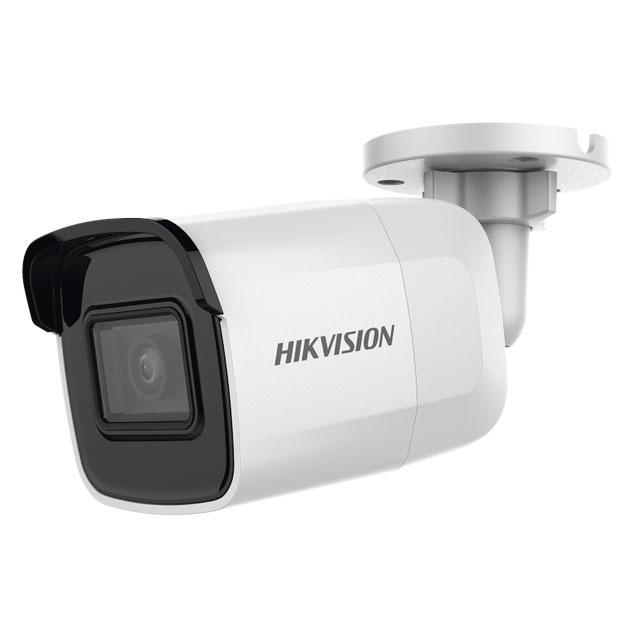 Camera IP thân trụ hồng ngoại 2MP chuẩn nén  H.265,DS-2CD2021G1-I - Hàng chính hãng