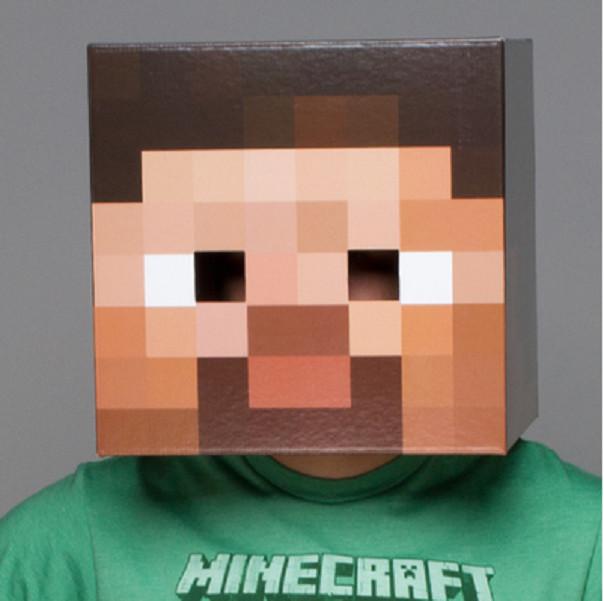 Đầu hoá trang Steve Minecraft