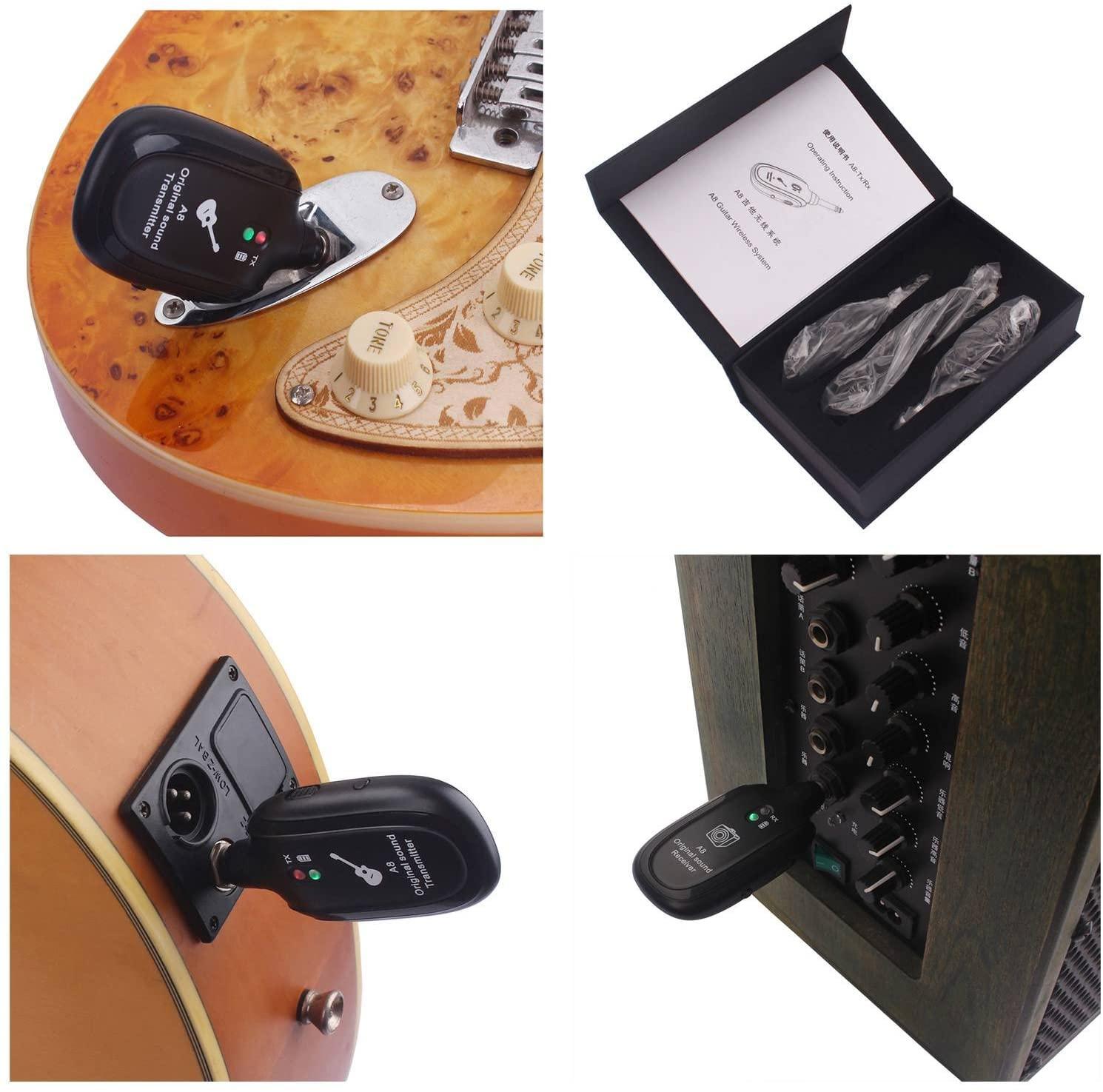 Bộ thiết bị thu và phát âm thanh A8 màu đen