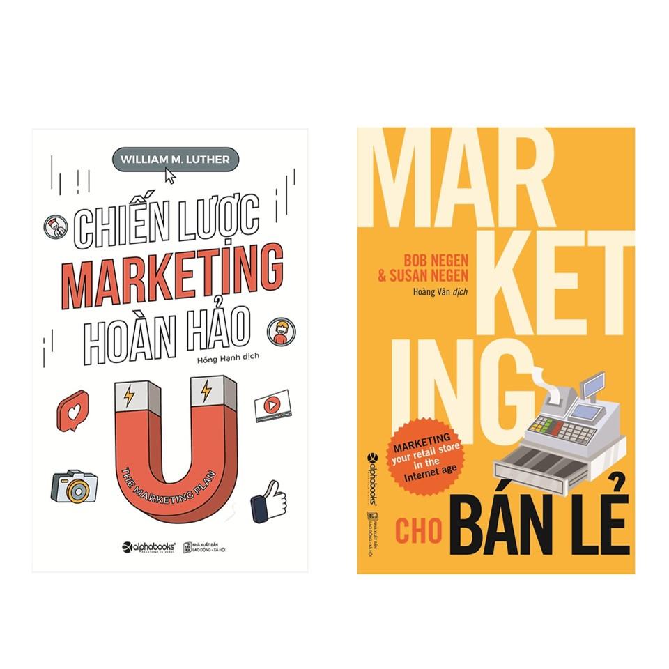 Combo Giải Pháp Marketing Tổng Thể: Chiến Lược Marketing Hoàn Hảo + Marketing Cho Bán Lẻ