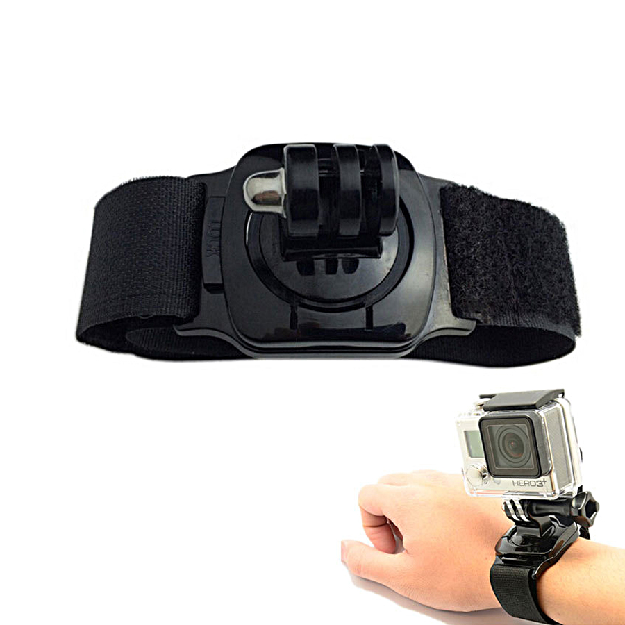 Dây đeo tay 360 độ cho Gopro, Sjcam