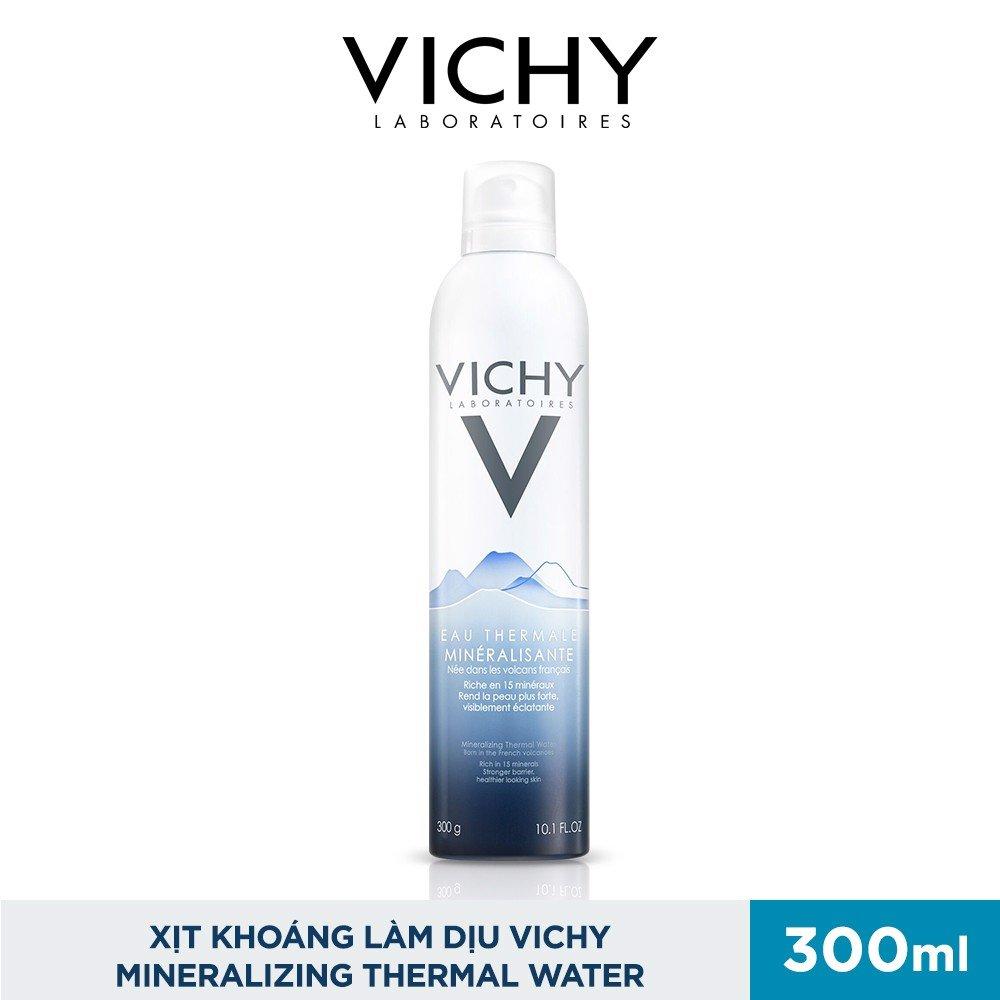 Xịt Khoáng Làm Dịu Vichy Mineralizing Thermal Water 300ml