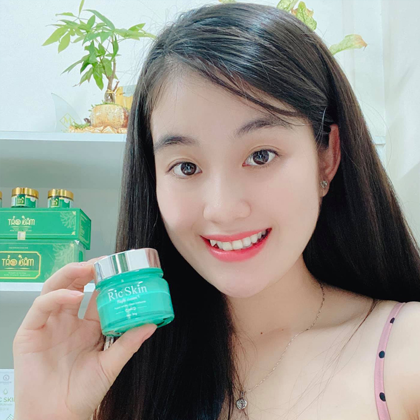 Ric Skin Night Cream - Kem nám đêm Ric Skin
