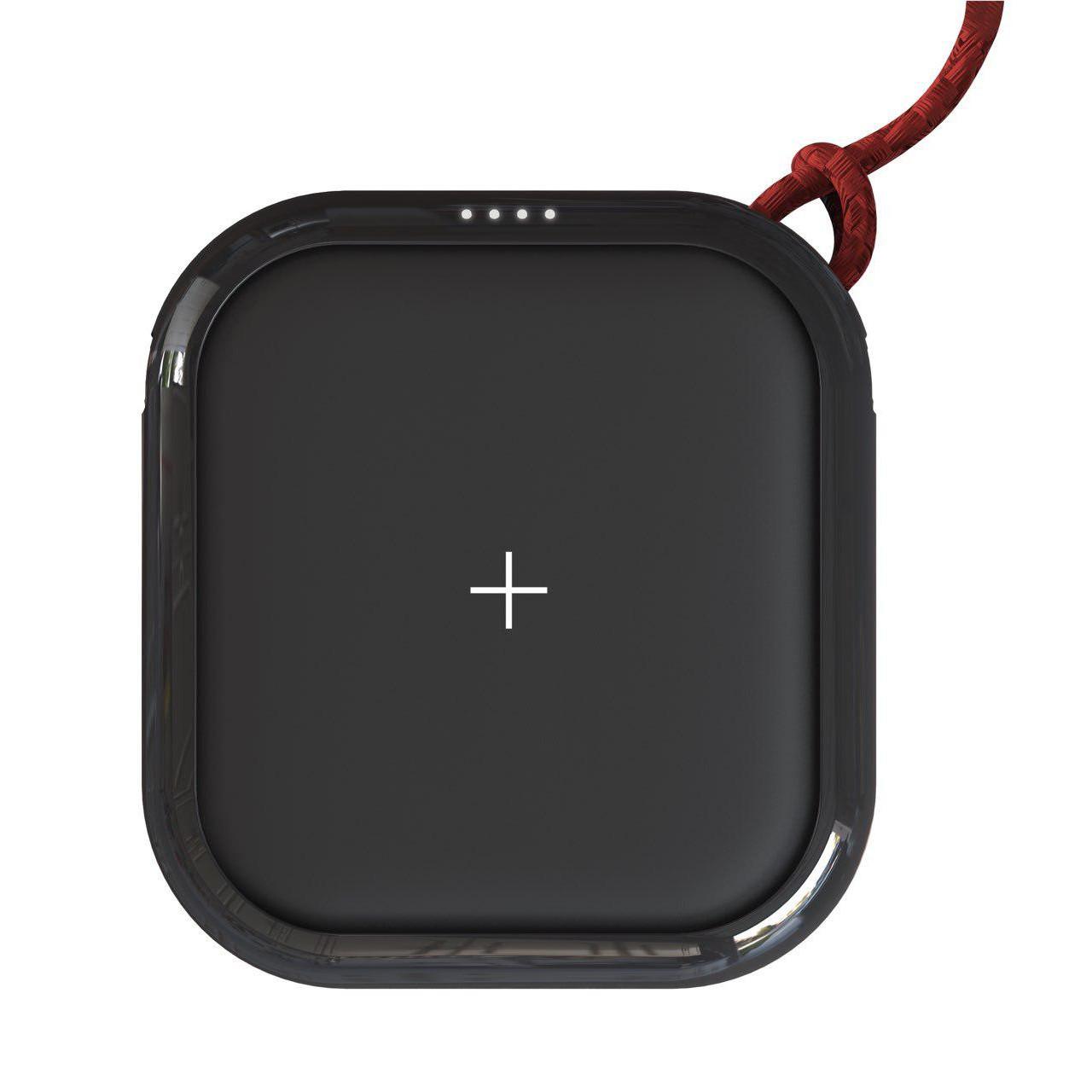 Pin Sạc Dự Phòng Mipow Cube X 10000 mAh Ver II Kết Hợp Sạc Không Dây Qi 10W Tích Hợp Cổng USB Type-C In/Out Hỗ Trợ Sạc Nhanh PD Power Delivery 18W - Hàng Chính Hãng