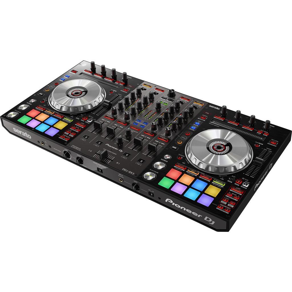 Bàn DJ Controller DDJ-SX3 (Pioneer DJ) sử dụng Serato DJ - Hàng Chính Hãng