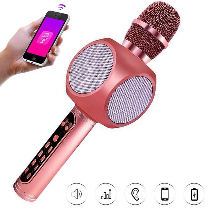 Míc hát karaok YS90 cao cấp thiết kết bắt mắt - Âm thanh cực đỉnh