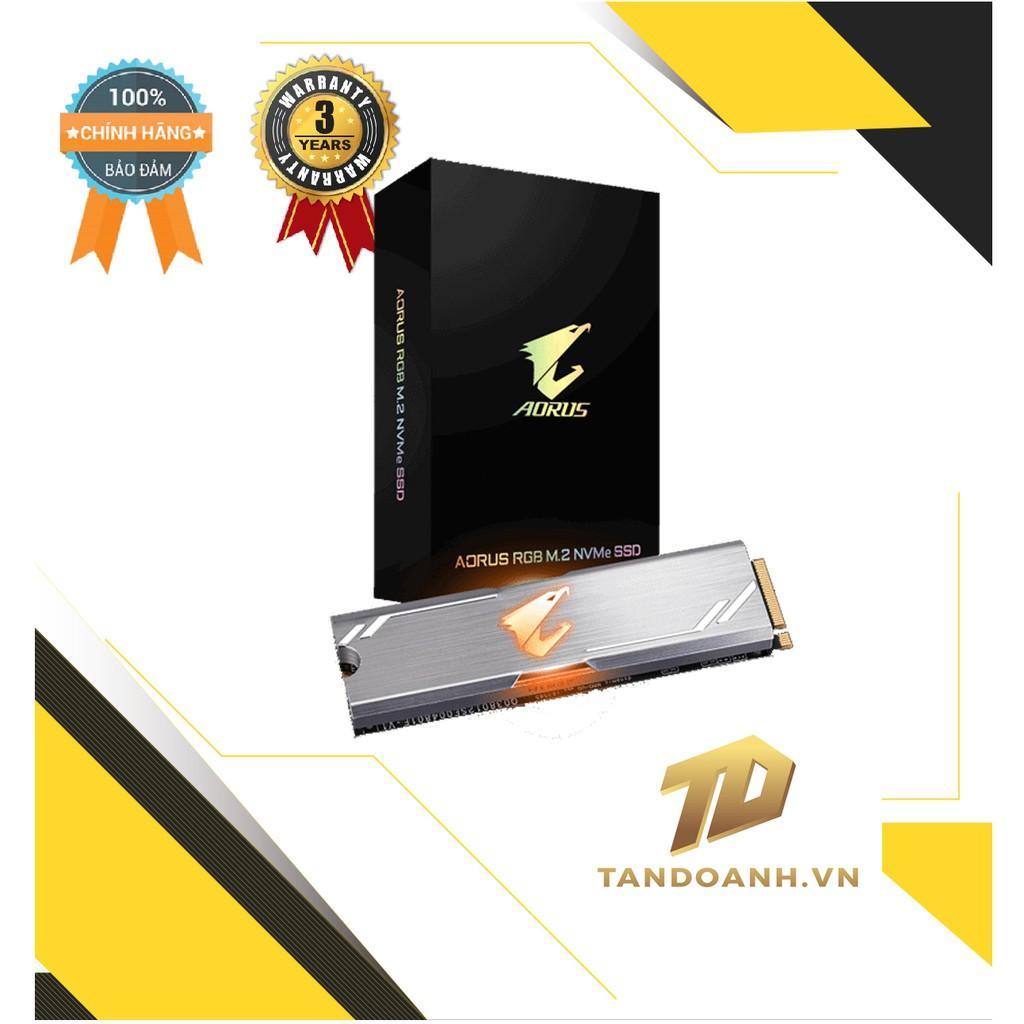 Ổ cứng SSD GIGABYTE AORUS RGB - Dung lượng 256GB - PCIe NVMe - CHÍNH HÃNG