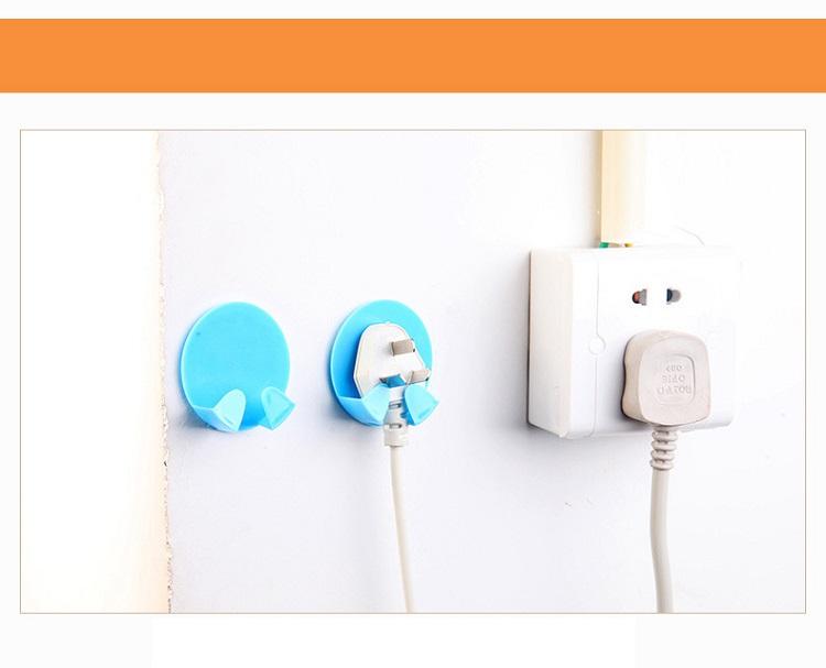 Ổ Cắm Điện Lục Giác Hình Trái Cây F012 Tích Hợp 5 Ổ Cắm Điện Và 2 Cổng USB Tặng Kèm 1 Giá Đỡ Ổ Cắm Điện - Giao màu ngẫu nhiên