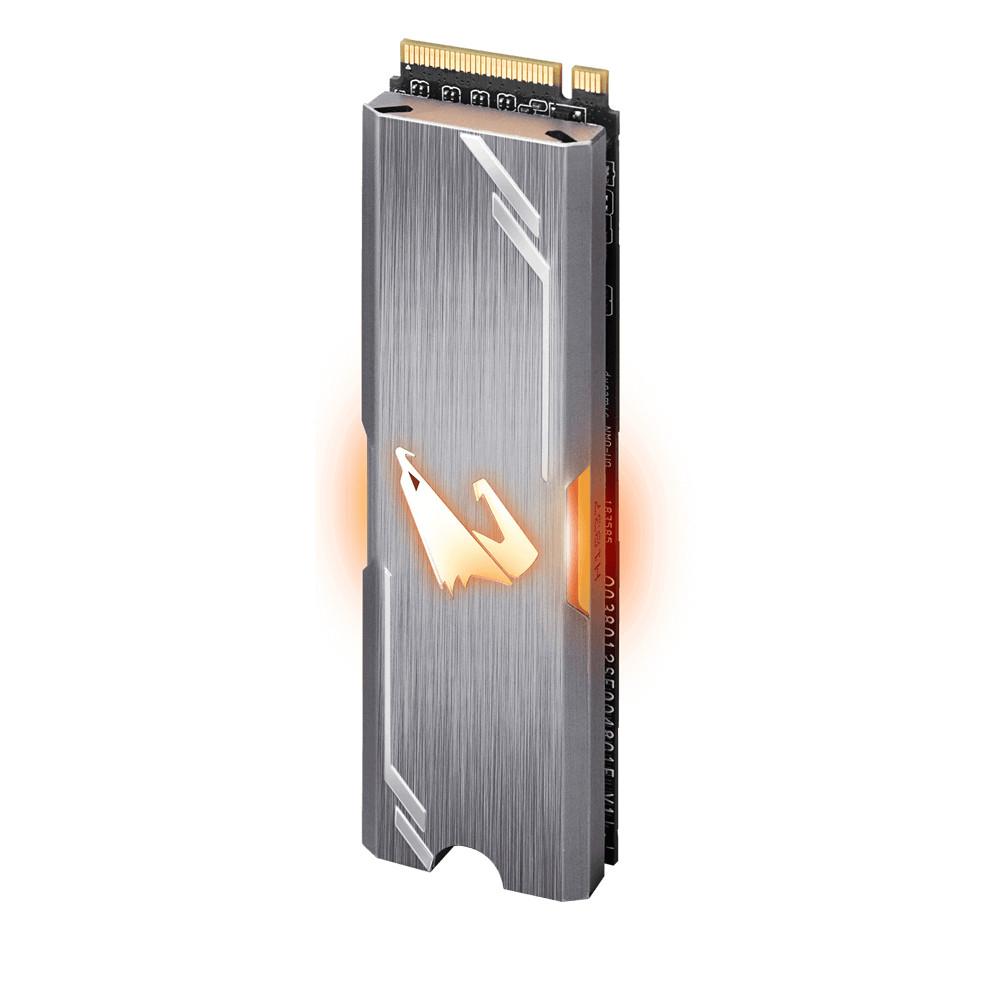Ổ cứng SSD GIGABYTE AORUS RGB 256GB M.2 2280 NVMe - Hàng Chính hãng