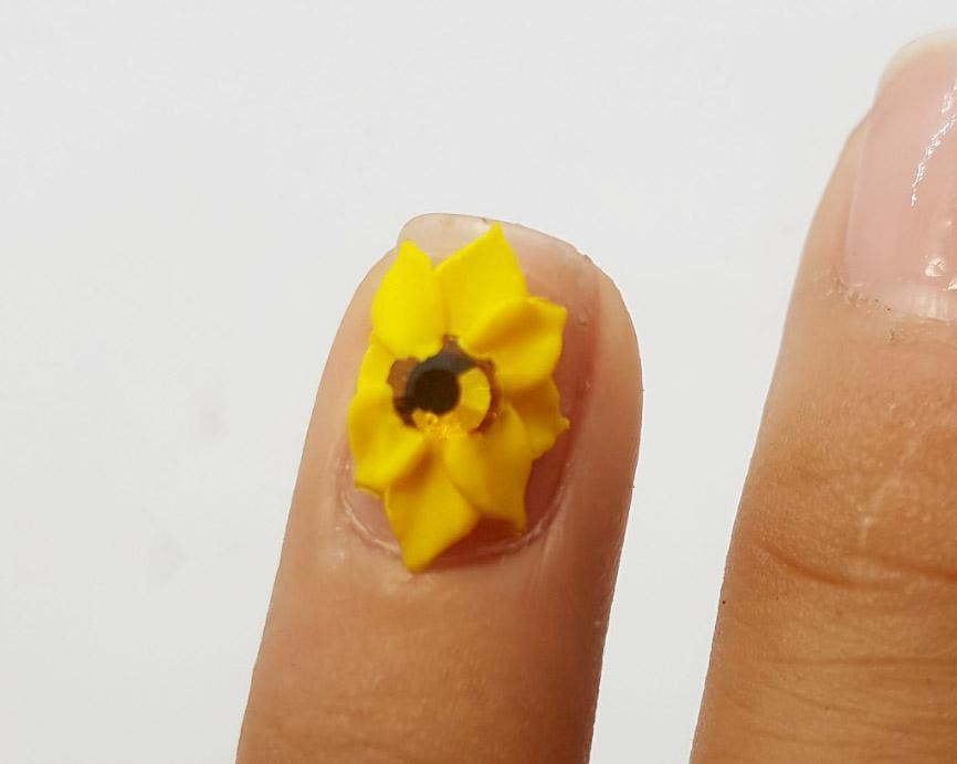 Hoa bột vẽ nổi fatasy sản phẩm trang trí móng.HN025