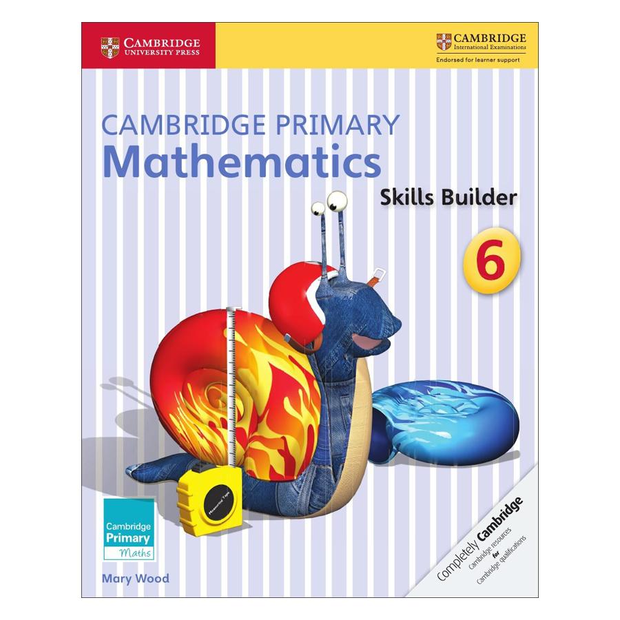 Cambridge Primary Mathematics 6: Skills Builders