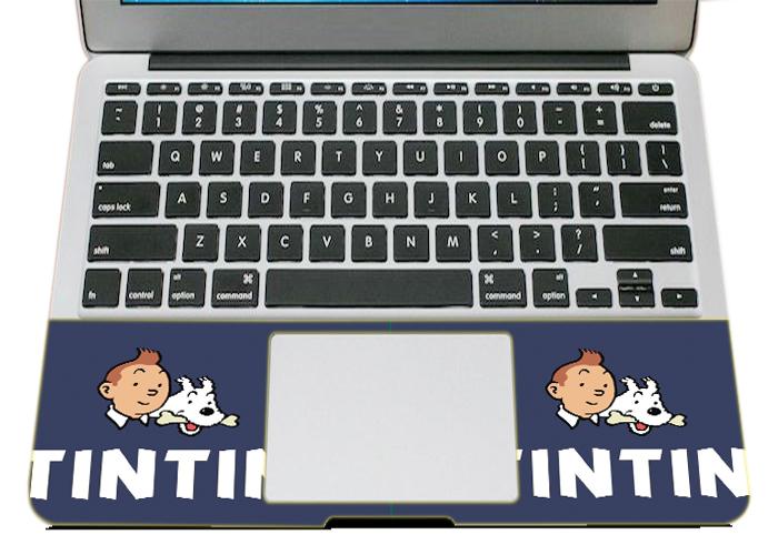 Mẫu Dán Skin Trang Trí Mặt Ngoài + Lót Tay Laptop Hoạt Hình LTHH - 843