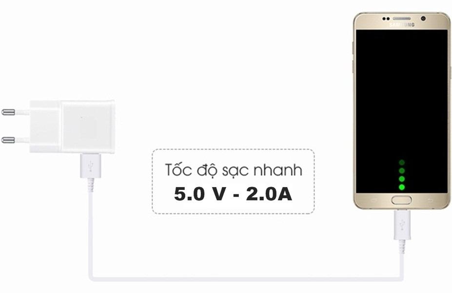 Sạc cho Samsung Note 4/5 S6/ S7 (cổng micro )