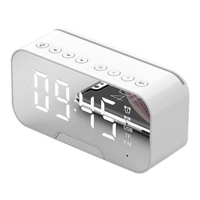 Loa Bluetooth tích hợp đồng hồ, báo thức