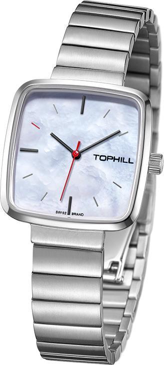 Đồng hồ nữ mặt xà cừ Thụy Sĩ TOPHILL TS008L.S1252