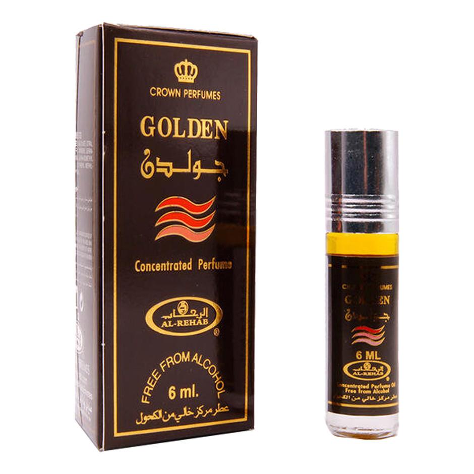 UNISEX_Tinh dầu nước hoa GOLDEN Al-Rehab (hàng chính hãng )