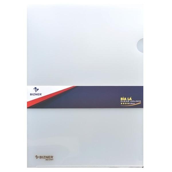 Xấp 10 Bìa lá A4 Thiên Long Bizner BIZ-CH01 (10 bìa/ xấp - loại siêu dày 0,2 mm)