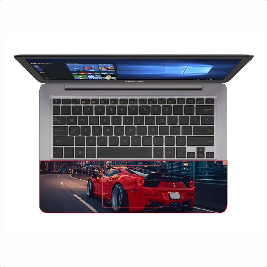 Miếng Dán Skin In Decal Dành Cho Laptop - Siêu xe Ferrari 4