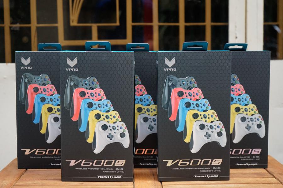 Tay Cầm Chơi Game Rapoo V600s - Hàng chính hãng