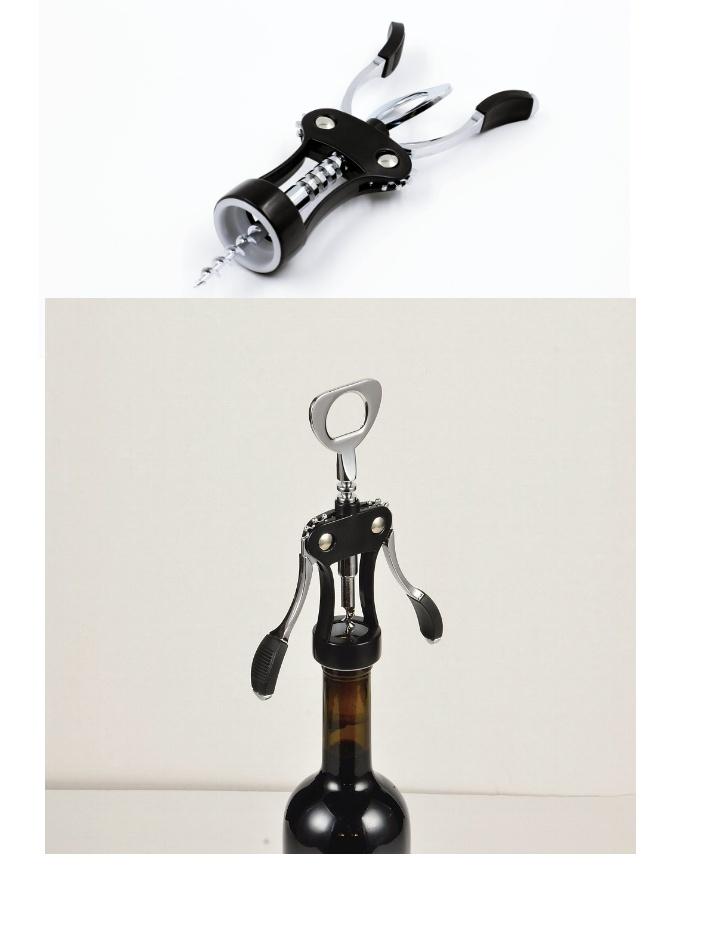 Dụng cụ mở rượu vang cao cấp hàng Nhật Bản nhựa ABS và thép không gỉ