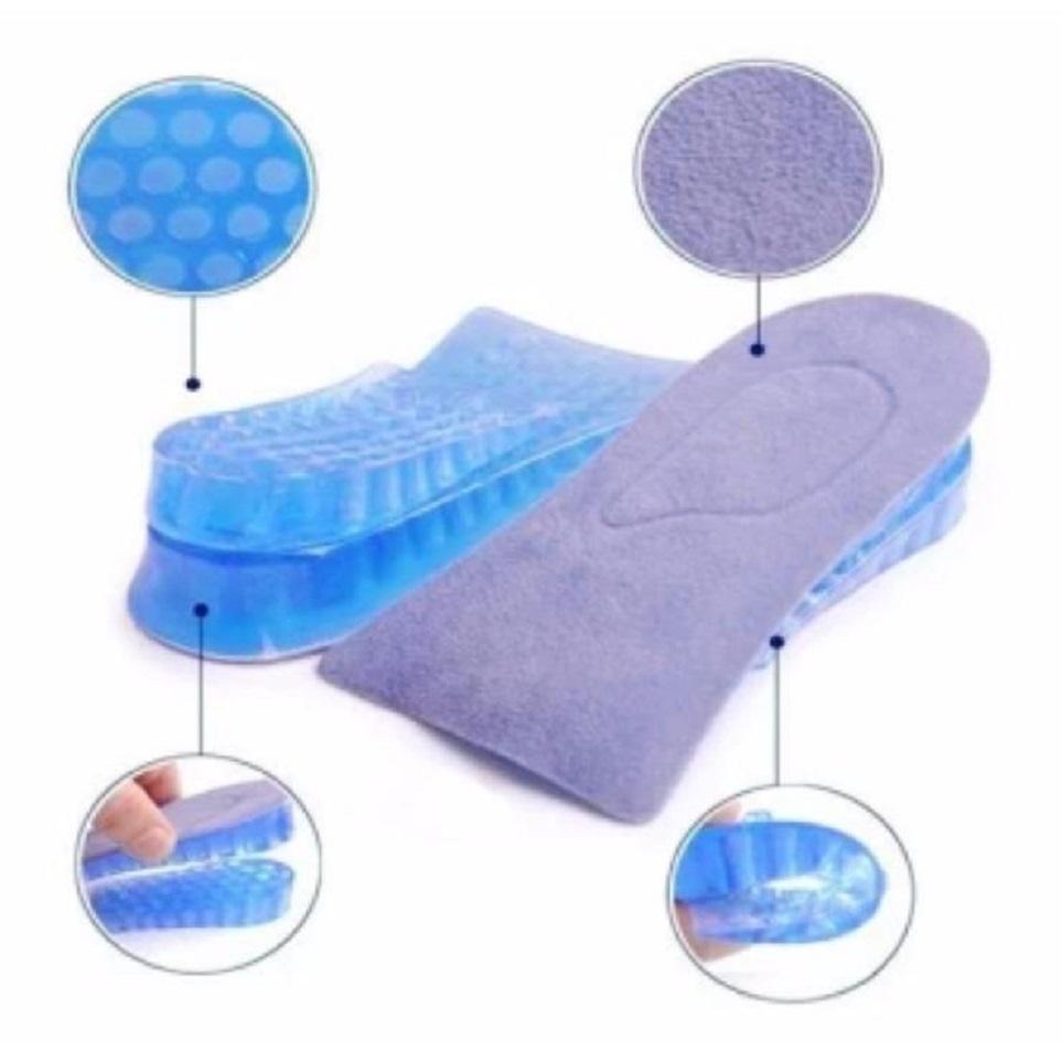 Lót giày tăng chiều cao silicon mềm 2 lớp 4cm