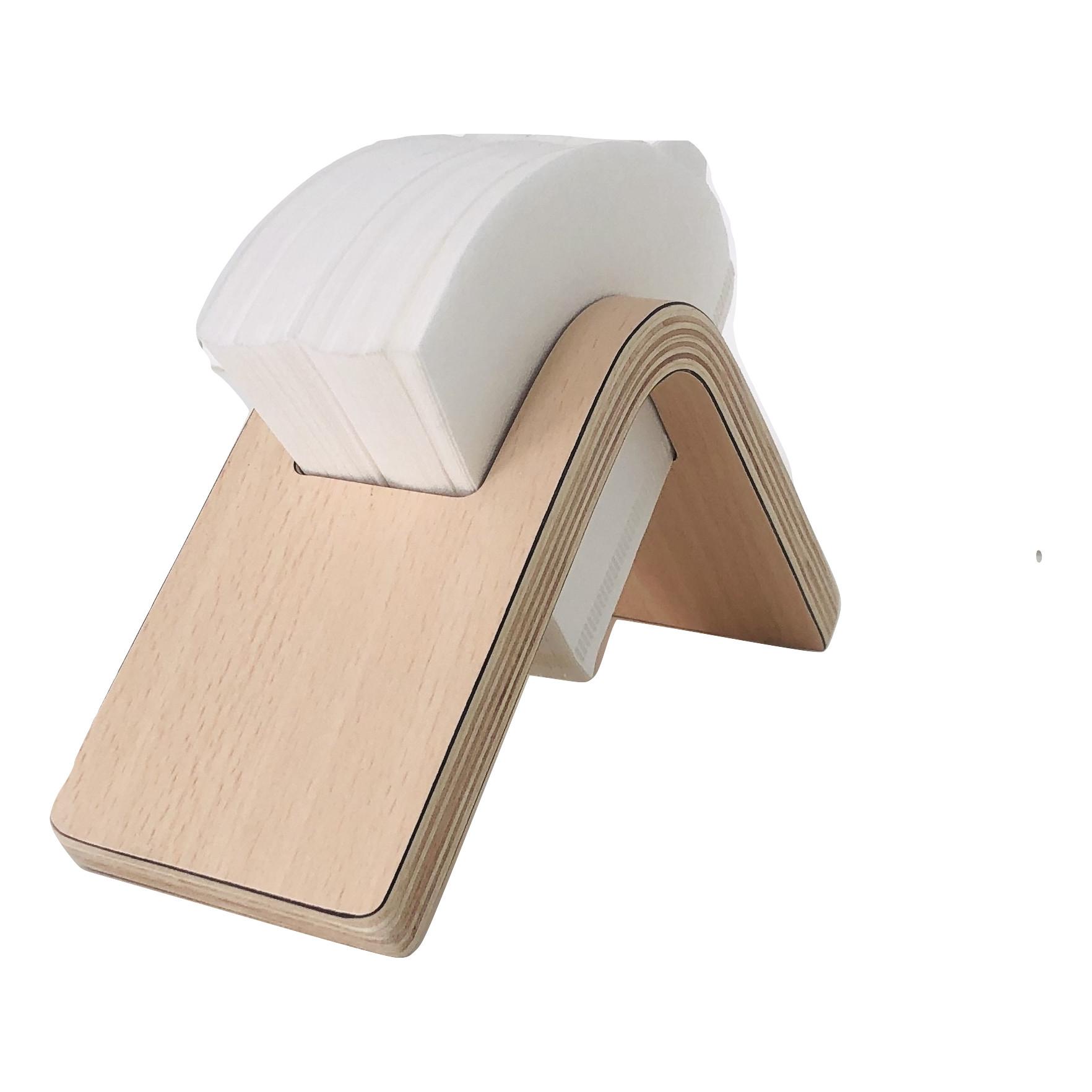 Khay đựng giấy ăn, giấy lọc cafe  Joy Paper Holder màu gỗ JPH0101