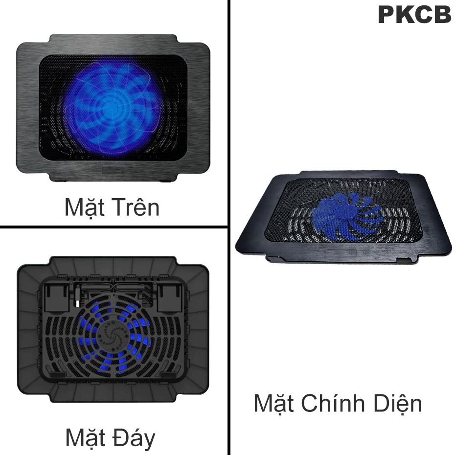 Đế Tản Nhiệt Dùng Cho Máy Tính Laptop Giúp Làm Giảm Nhiệt Độ Của Máy PKCB PF89 -Hàng Chính Hãng