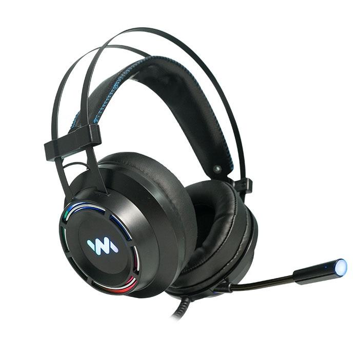 Tai nghe chụp tai chuyên game Wangming 9800S Led RGB 7.1 - Hàng chính hãng