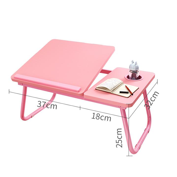 Bàn làm việc di động ngồi giường di động - Bàn học sinh đa năng (kt 55x32x25cm)