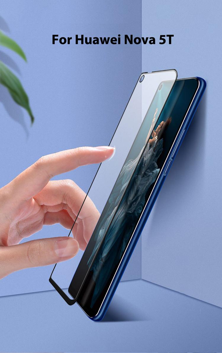 Dán cường lực dành cho Huawei Nova 5T Full keo và từ tính