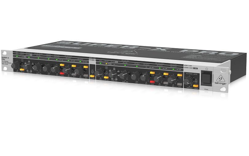 Thiết bị phân tần Behringer SUPER - X PRO CX3400 - Crossover Behringer CX3400- Hàng Chính Hãng
