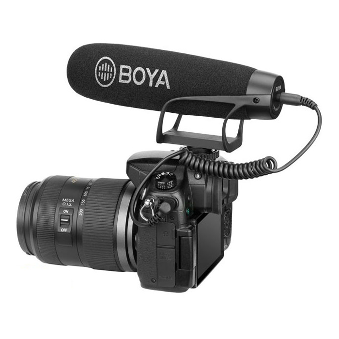Micro Máy Ảnh Boya BY-BM2021 - Hàng Chính Hãng