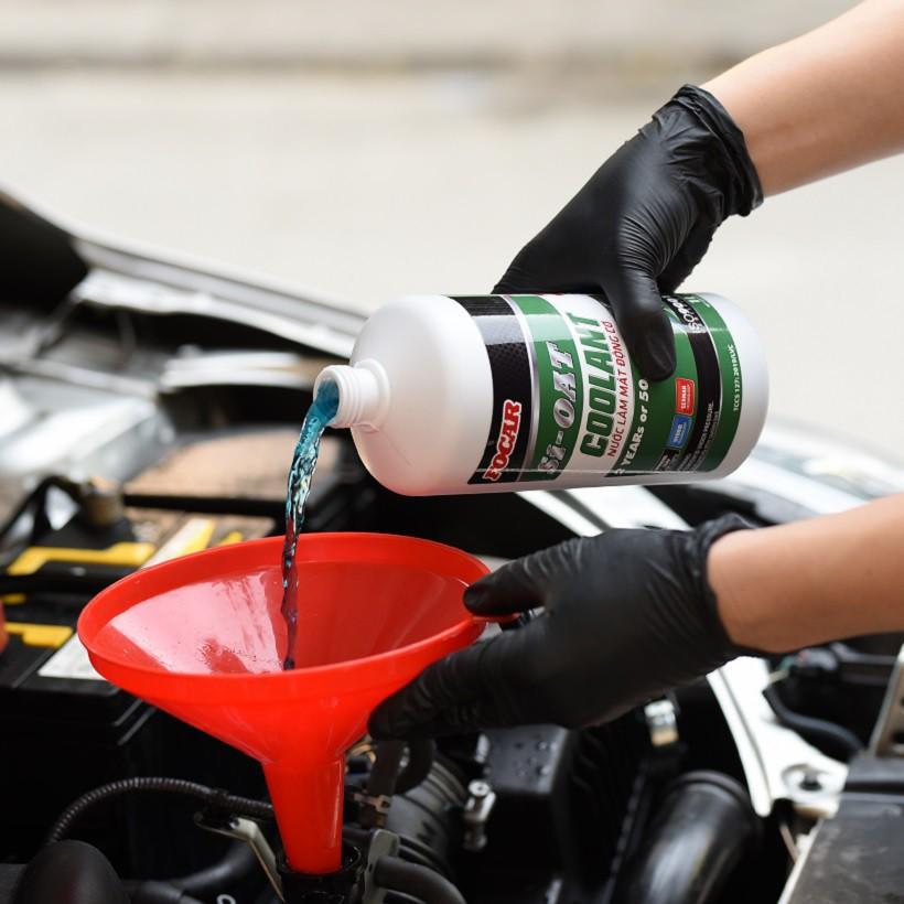 Nước làm mát động cơ ô tô Si-OAT 1L - Công nghệ chống ăn mòn tiên tiến