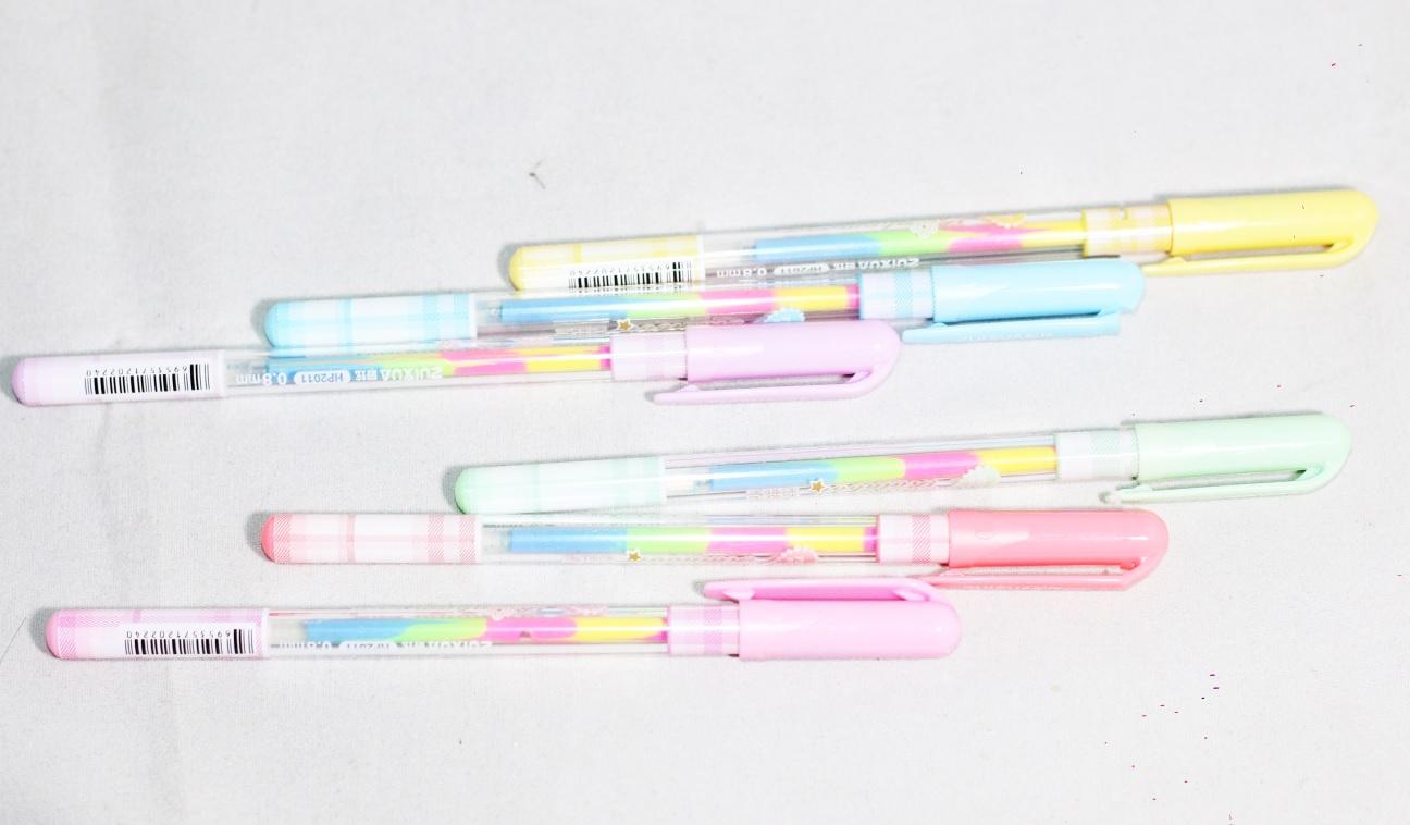 Bút Nhũ Cầu Vòng Rainbow (Vỉ 6 Cây)