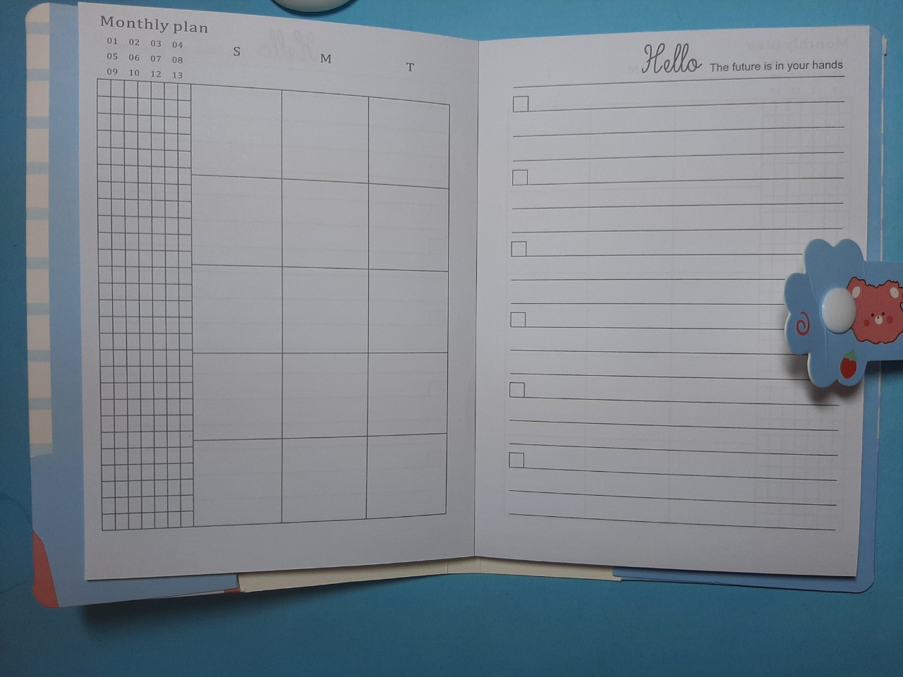 Combo 2 cuốn sổ tay cute có kèm con thú ngộ nghĩnh ngẫu nhiên (màu ngẫu nhiên)