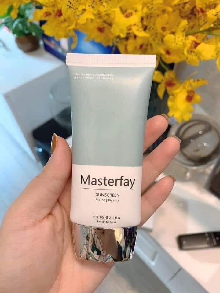 Kem Chống Nắng Vật Lý Sunscreen Masterfay Hathor Beauty 60g
