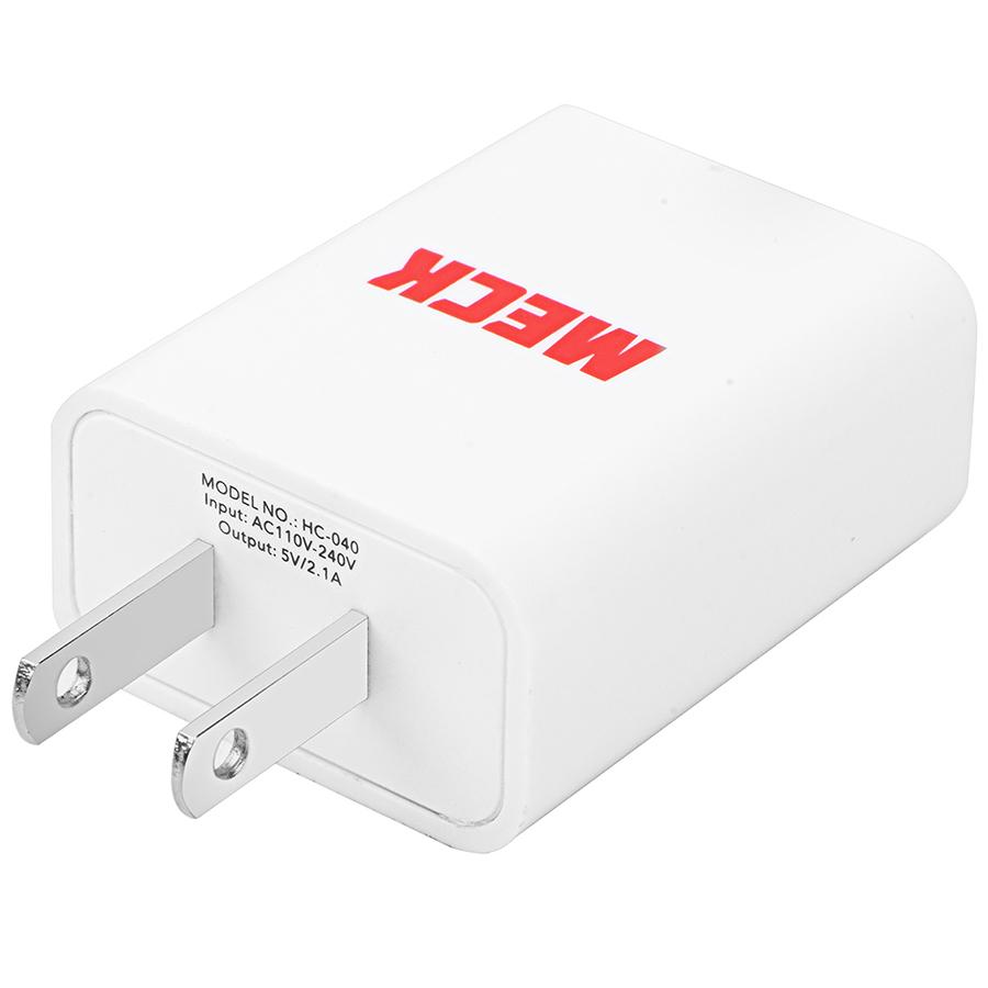Củ Sạc USB Adapter 2.1Amp MECK