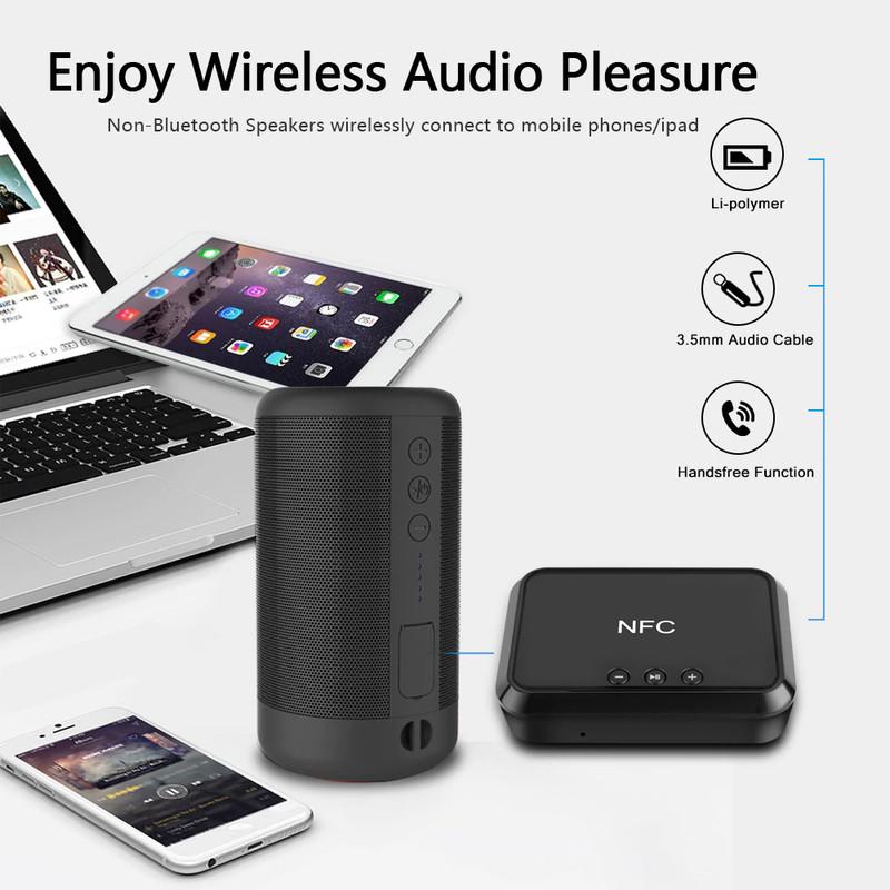 Thiết Bị Nhận Bluetooth Cho Loa và Amply BLS-B10 NFC