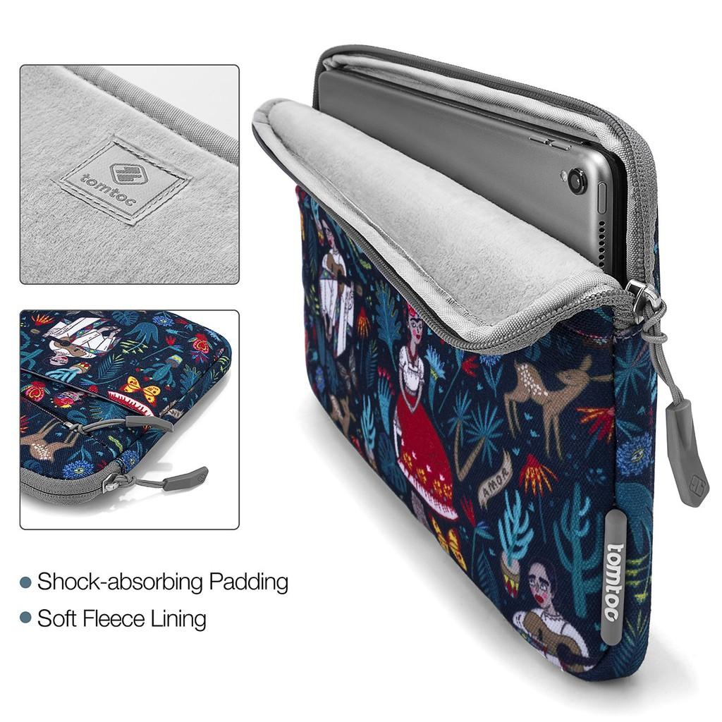 Túi chống sốc Tomtoc (USA) Style Macbook - Surface 13.3inch Dazzling Blue - A18